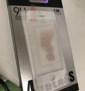 Защитное стекло iPhone 5,5s,5c