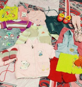 Вещи для девочки 1 год