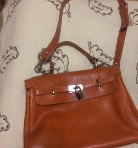 Женская сумка,натуральная кожа