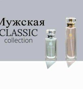 Мужские духи классической коллекции