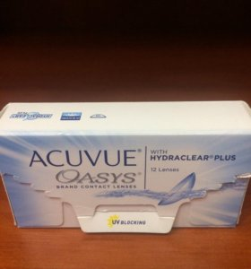 ACUVUE OASYS WITH HYDRACLEAR PLUS (11 ЛИНЗ)