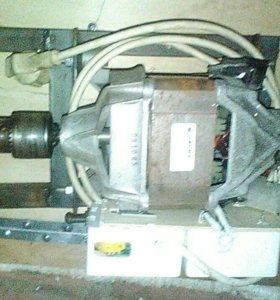 Электромотор сверлильный с регулятором оборота