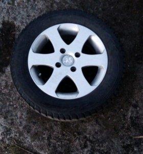 Nokian Hakkapeliita + диски 4*108*65 на Peugeot