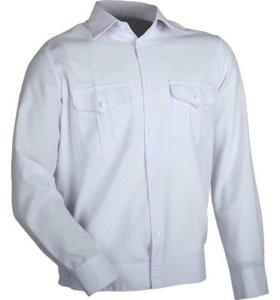 Рубашка Полиция, белая длинный рукав на резинке