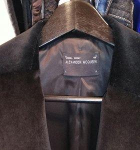 Пиджак ALexander MCQUEEN черный
