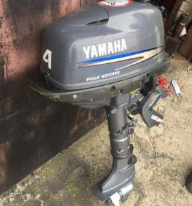 Лодочный мотор Yamaha F4 4 такта
