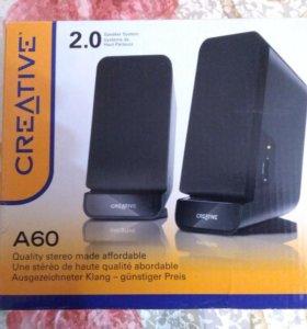 Аудиоколонки Creative A60