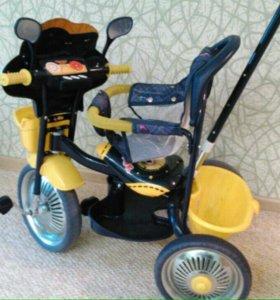 Велосипед детский трехколесный до 4 лет