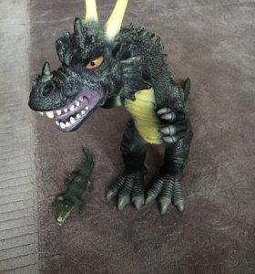 Игрушка Дракон+крокодил в подарок