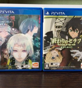 Игры Ps Vita: Токийский Гуль и Последний Серафим