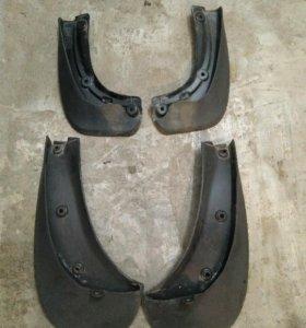 Комплект брызговиков (передние и задние)
