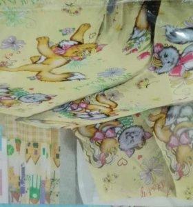Постельное белье детское в кроватку