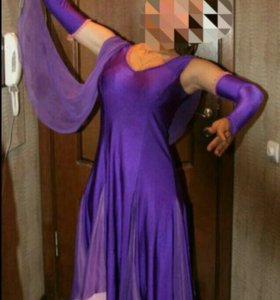 Платье для бальных танцев на Ю1 стандарт