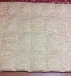 Одеяло перьевое сост.идеальное.