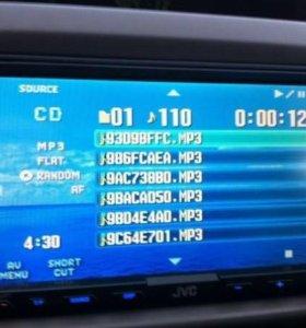 Автомагнитола JVC KW-AVX710