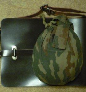 на сборы,сумка полевая,фляжка