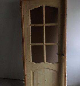 Межкомнатная дверь с рамой