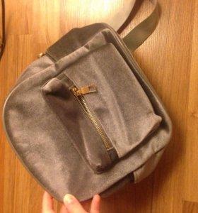 Бархатный рюкзак