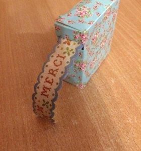 Декоративная бумажная лента