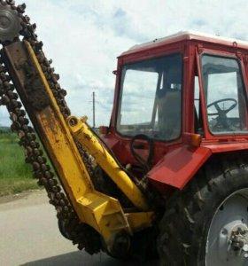Трактор МТЗ 80 бара