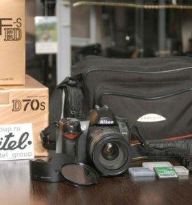 Nikon d70s + Nikkor 24-85 mm