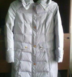 Пуховик-пальто.44-46 размер.