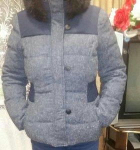 Куртка пуховик SPIRIT в хорошем состоянии46-48раз