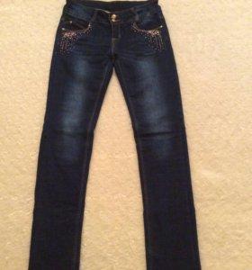 НОВЫЕ джинсы утеплённые