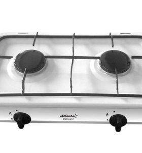 плита двухкомфорочная напольная газовая