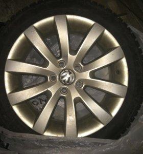 Колёса зимние VW Scirocco/Golf/Jetta/Passat R17
