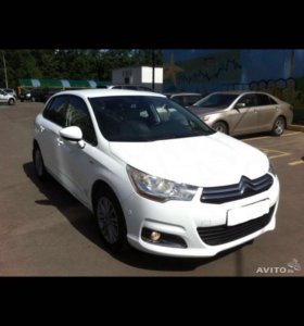 CITROËN C4, 1,6 AT, 120 л/с, 2013