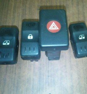 Кнопки Рено Логан Renault Logan