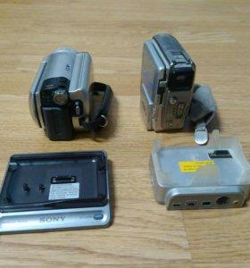 Цифровая видеокамера sony dcr-sr40