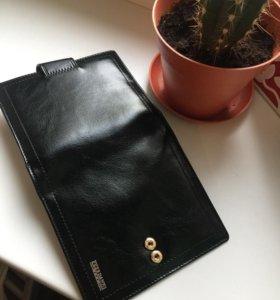 Кожаный кошелёк портмоне
