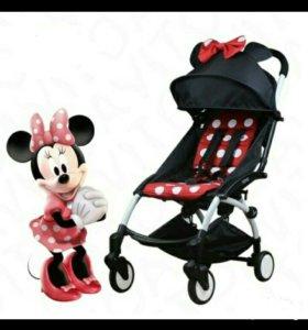 BabyTime складная коляска с бантиком.