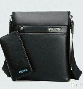 Мужская сумка-планшет Zoro Polo