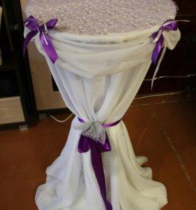 Столик для выездной регистрации свадьбы