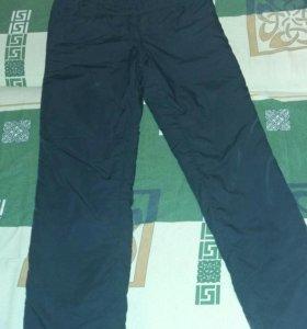 Болоневые зимние штаны