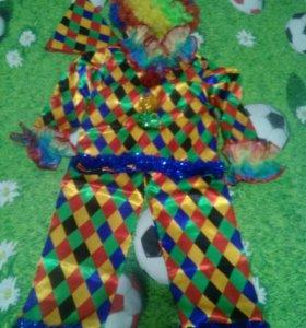Новогодний костюм арлекин