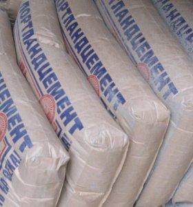 Цемент (500) в мешках 50 кг.