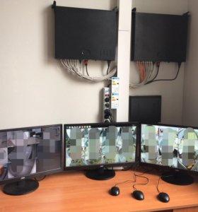 Комплекс видеонаблюдения