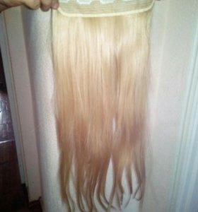 Иск. волосы на заколках, длина 55 см