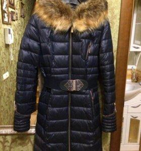 Пуховик - пальто