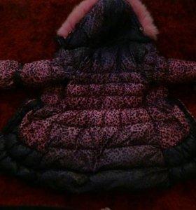 Пальто для девочки 152р.
