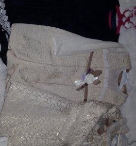 Платья нарядные для девочки 104, 110