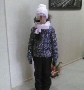 Куртка зимняя синтипон на девочку