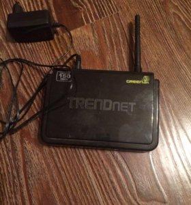 Trendnet TEW-651BRP wifi роутер