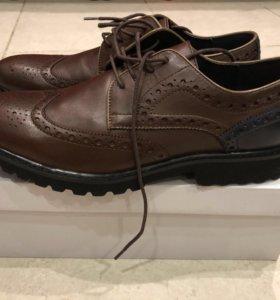 Туфли мужские новые нат.кожа 43размер