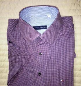 Рубашка Tommy Hilfiger с коротким рукавом xl