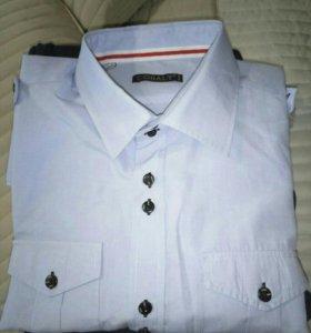 Рубашка cobalt с длинным рукавом xl